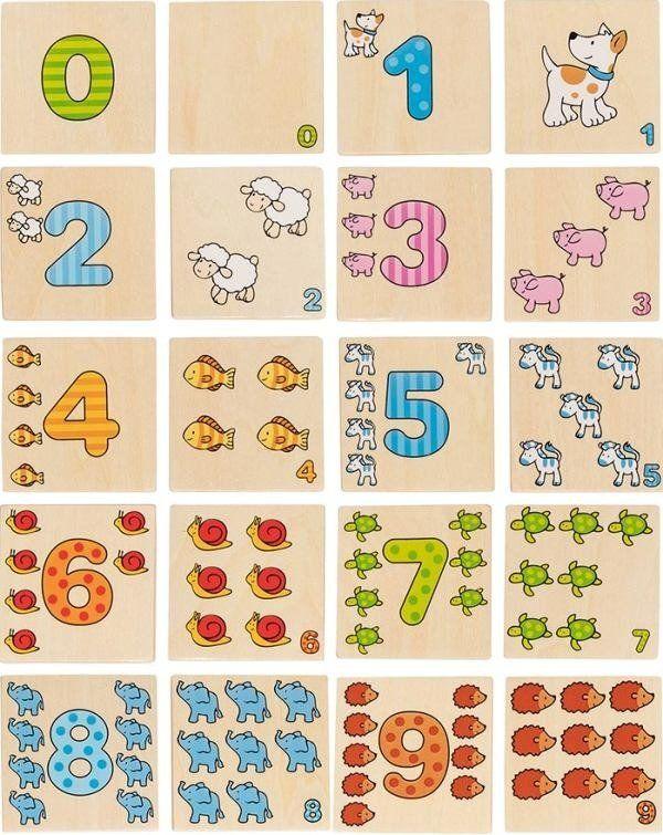 Memo Liczenie zwierząt 56806-Goki, gry pamięciowe