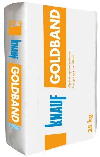 Tynk gipsowy ręczny Knauf Goldband 25 kg