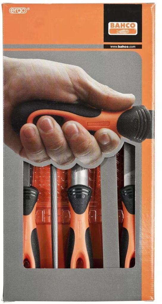 zestaw pilników ręcznych ERGO 200mm [1-478-08-1-2]