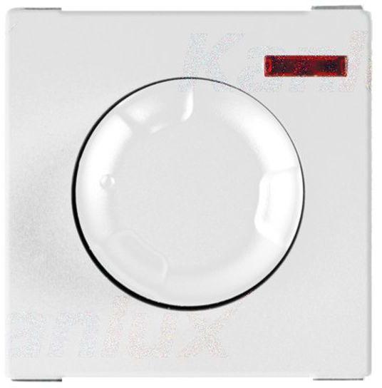 BIURO Ściemniacz obrotowy 50-600W śrubowy biały 25337
