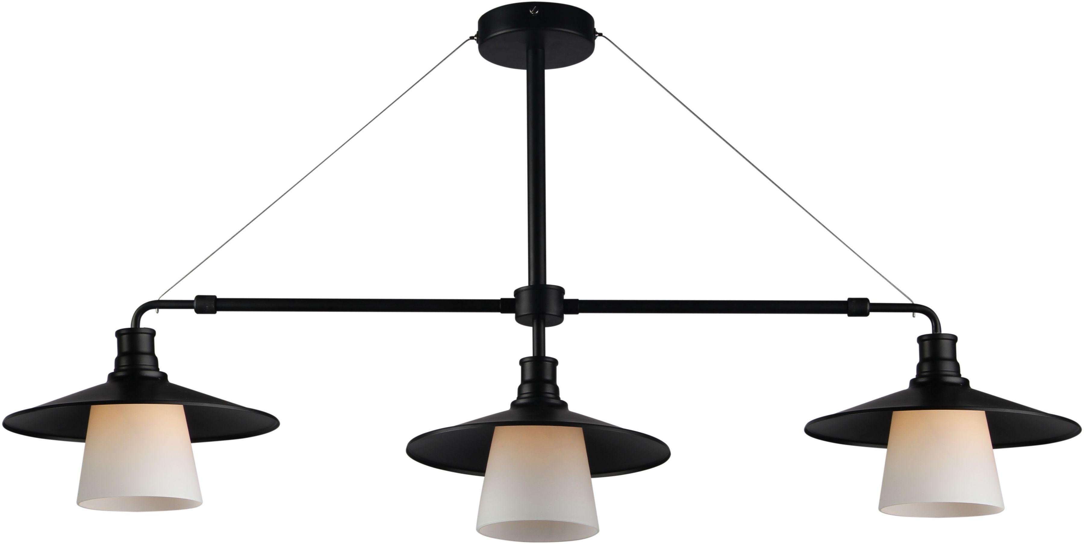 Loft lampa wisząca 3-punktowa 33-43115