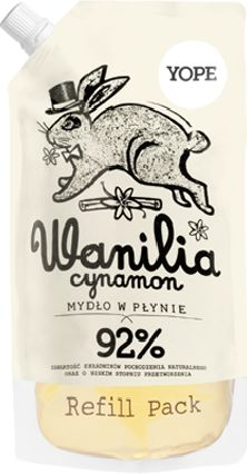 Yope Mydło wanilia i cynamon Refill 500ml