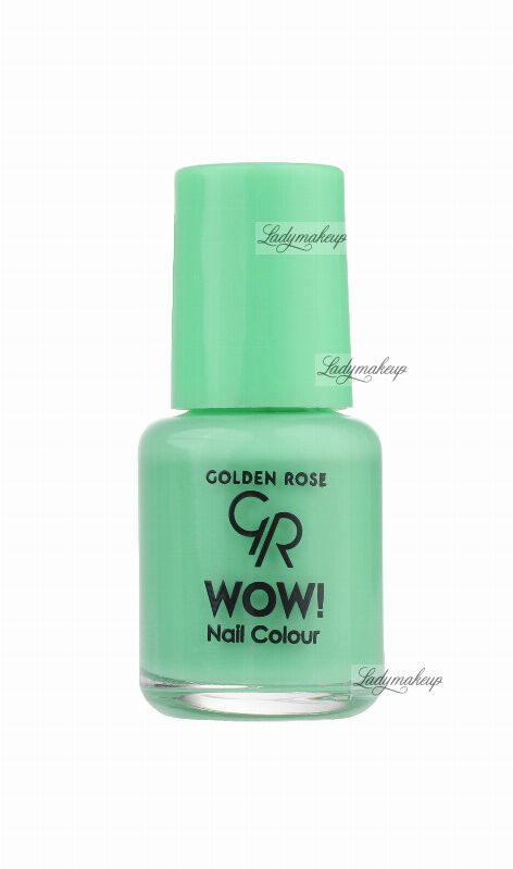 Golden Rose - WOW! Nail Color - Lakier do paznokci - 6 ml - 98