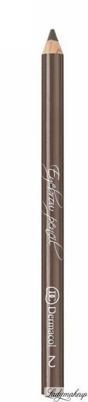 Dermacol - Eyebrow Pencil - Kredka do brwi ze szczoteczką - 2