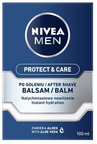 Nivea Men Protect & Care Nawilżający balsam po goleniu 100 ml