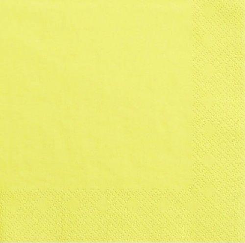 """Serwetki papierowe """"kolorowe party"""" żółte"""