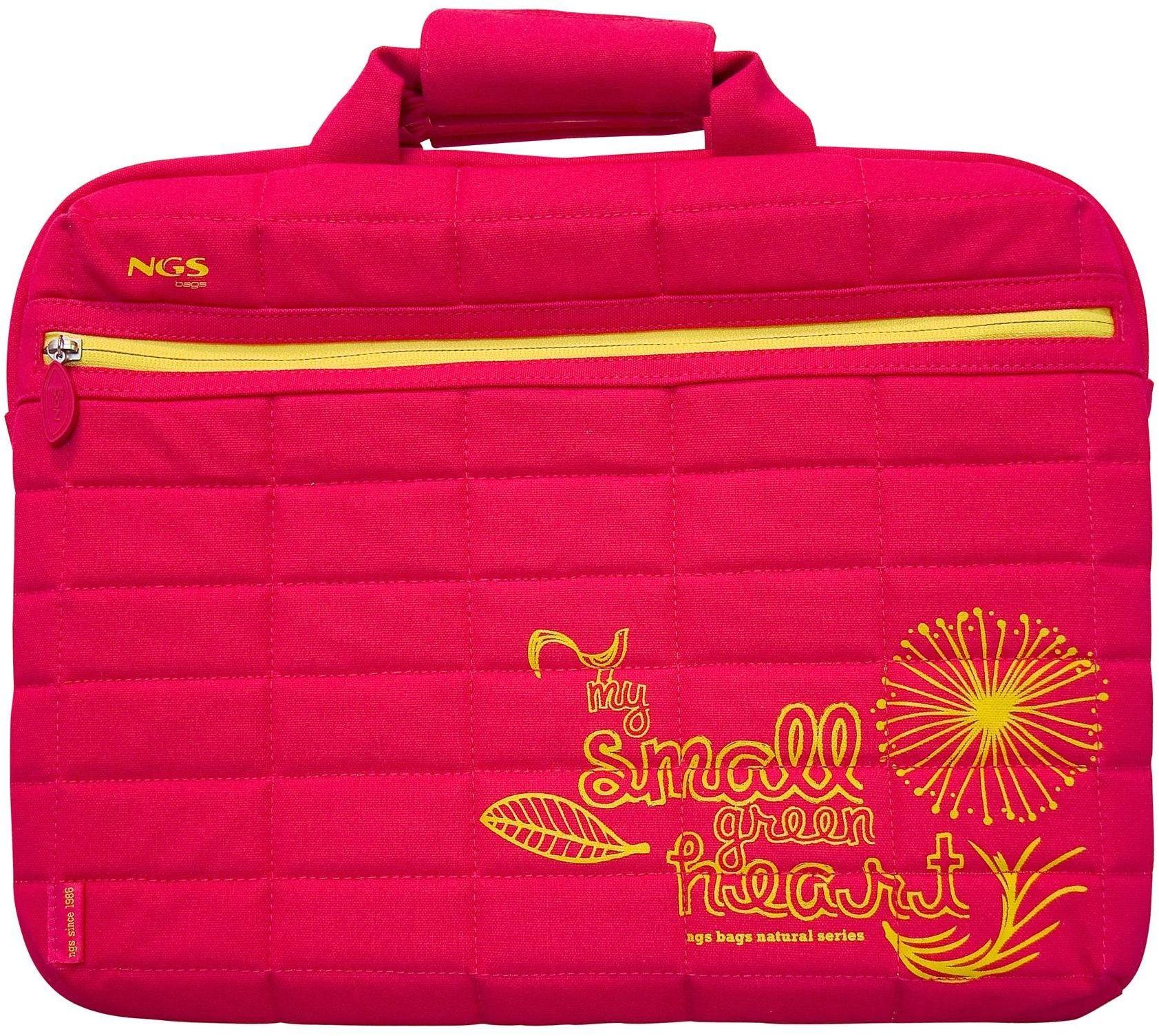 """NGS Strawberry 16 damska torba na laptopa 16"""" fuksja"""