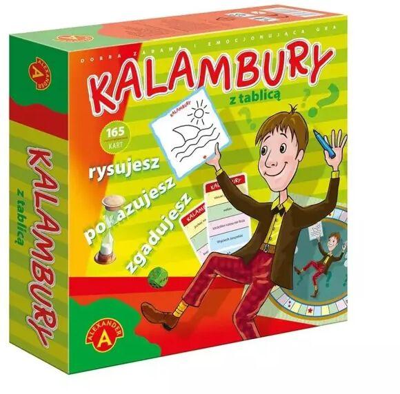 Kalambury z tablicą ALEX - Alexander