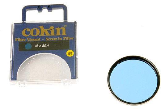 Cokin C020 filtr niebieski 80A 58mm