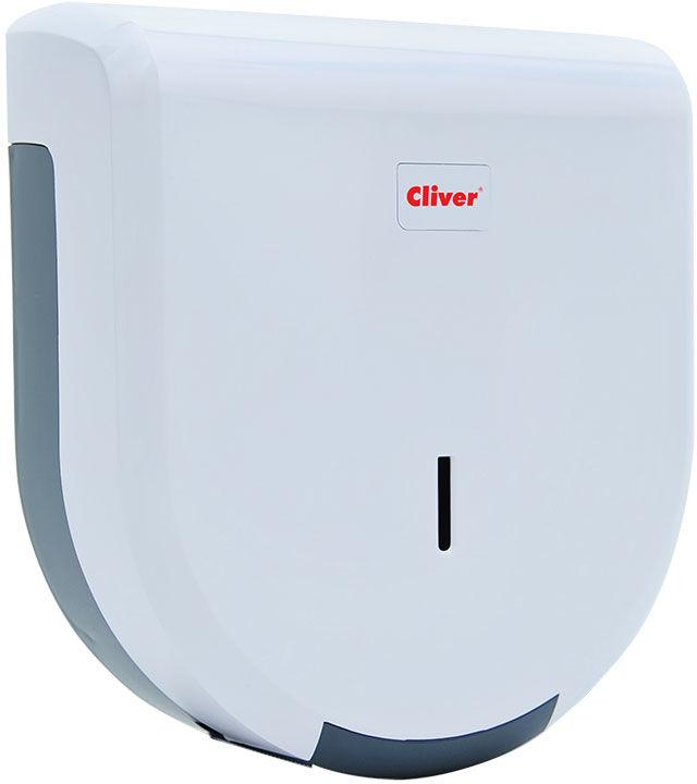 Pojemnik na papier toaletowy Lamix Midi plastik biały