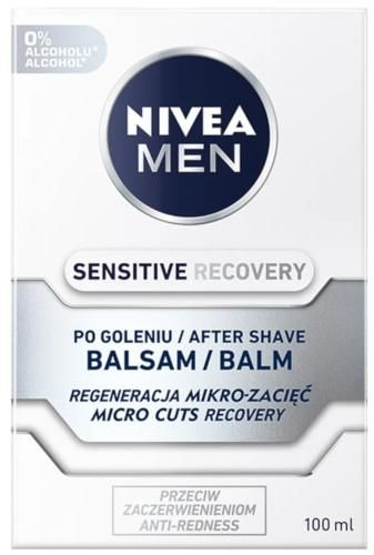 Nivea Men Sensitive Recovery balsam po goleniu 100 ml