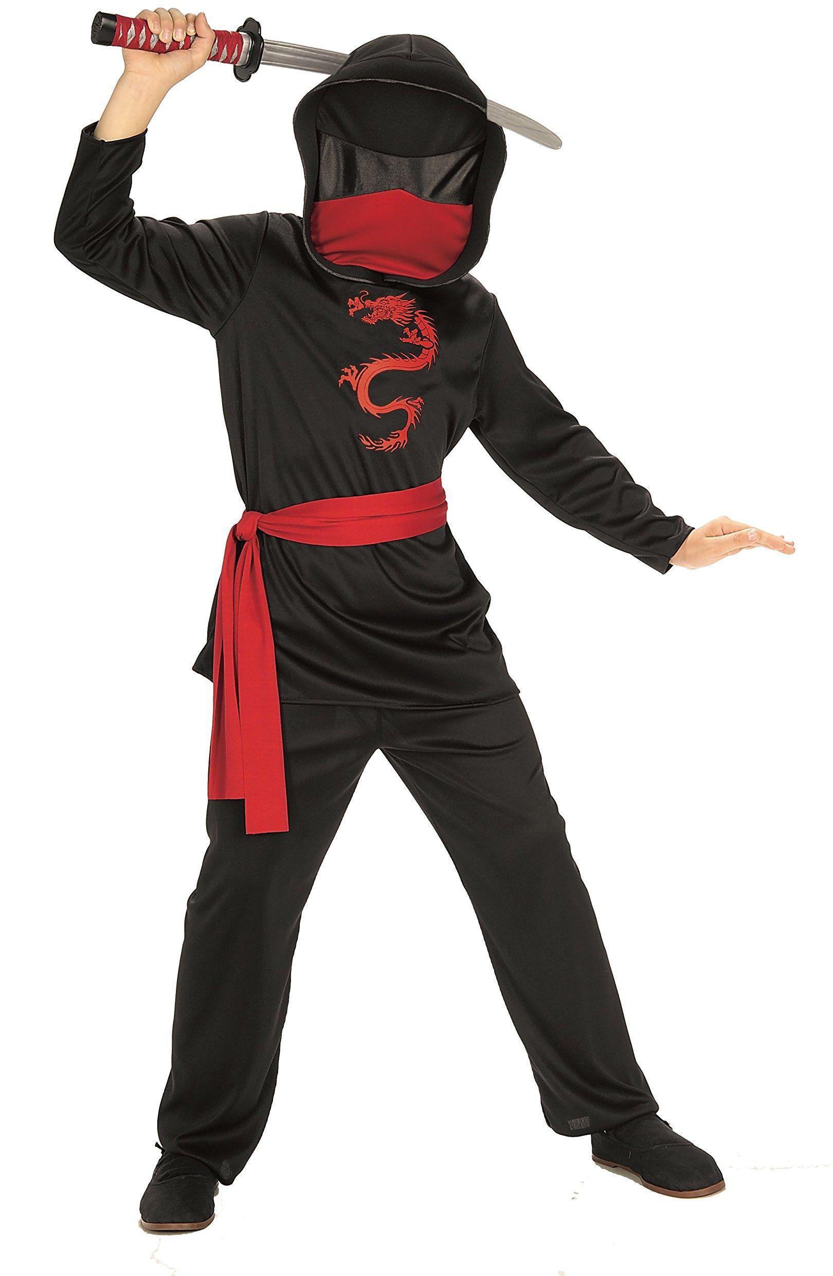 Ninjas  Ninja bez twarzy czarny S czarny