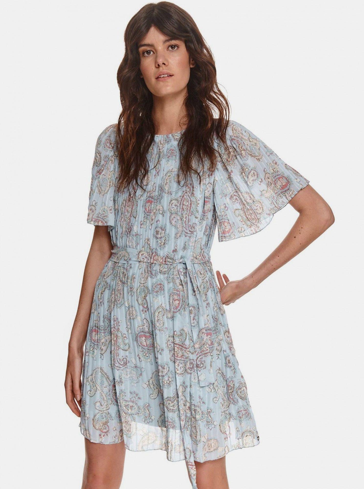 TOP SECRET plisowana sukienka