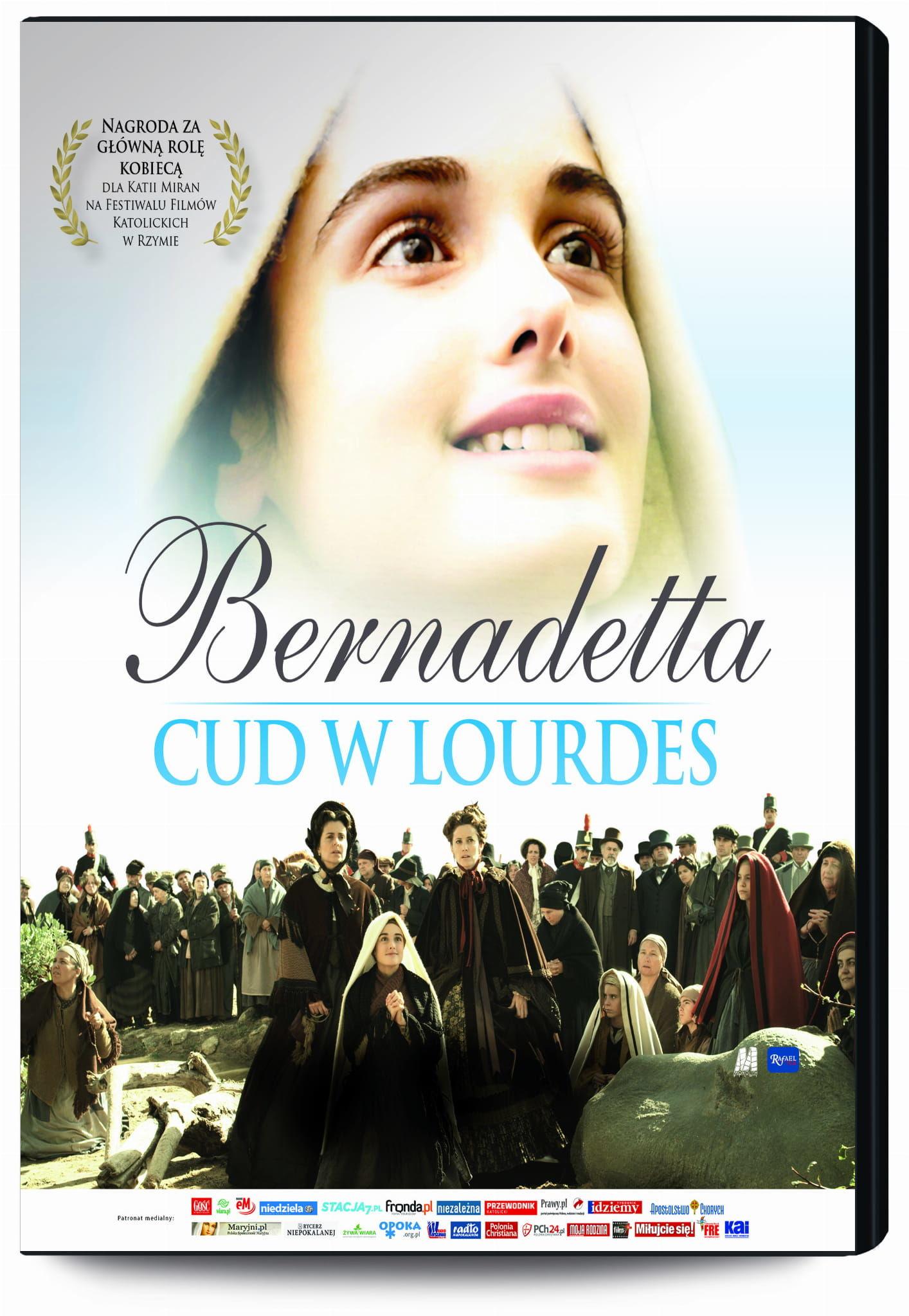 Lourdes, historia i kult. 160. rocznica objawień. Wydanie z filmem DVD-Bernadetta Cud w Lourdes