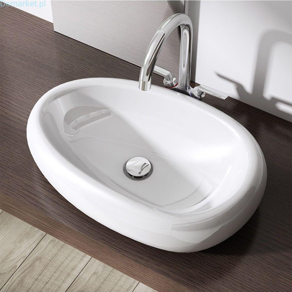 Umywalka C894 Nablatowa Ceramiczna 56cm