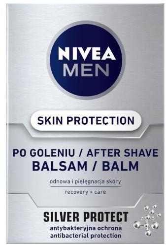 Nivea Men Skin Protection balsam po goleniu Silver Protect 100 ml