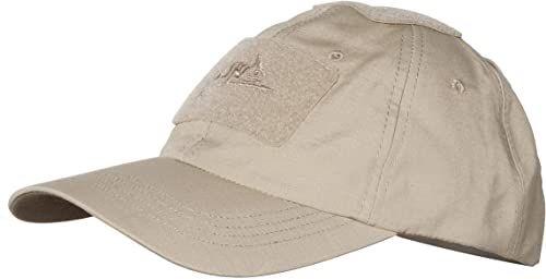 Helikon Męska bluza taktyczna Tex Tactical BBC Cap-Cotton Ripstop-Khaki, rozmiar uniwersalny