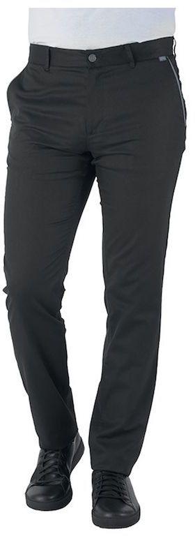 Spodnie kucharskie czarne CADEN XXXL