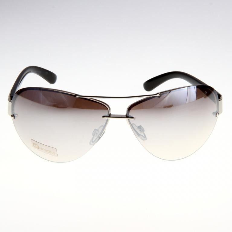 Okulary Sandro Style ROM250 Srebrne