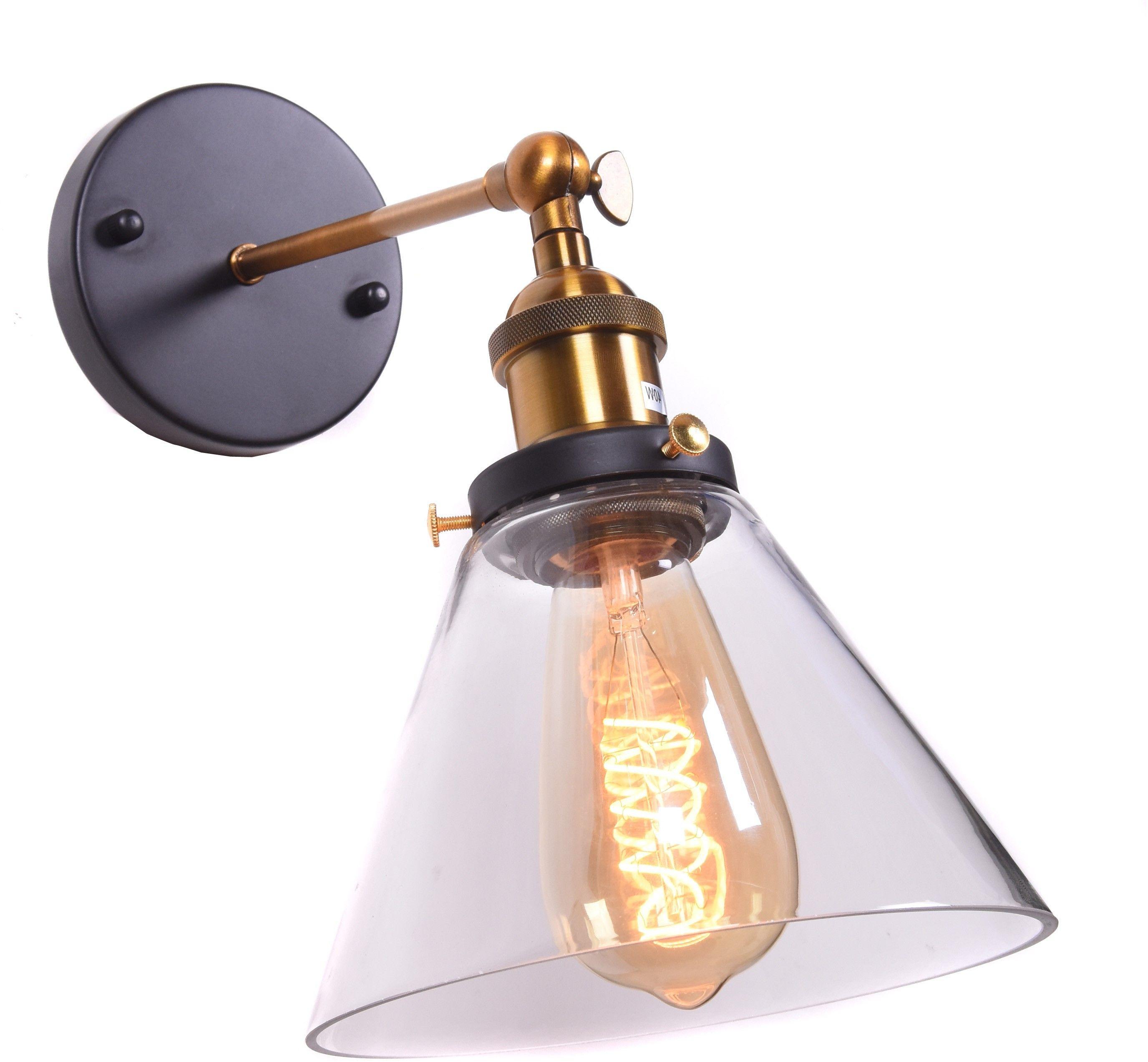 KINKIET LAMPA ŚCIENNA LOFT NUBI