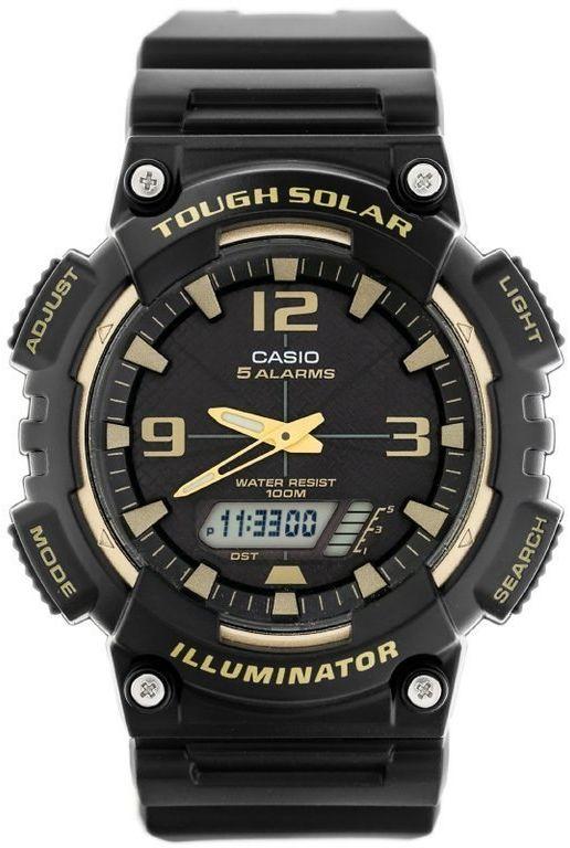 ZEGAREK MĘSKI CASIO AQ-S810W 1A3V (zd044i) - SOLAR POWERED
