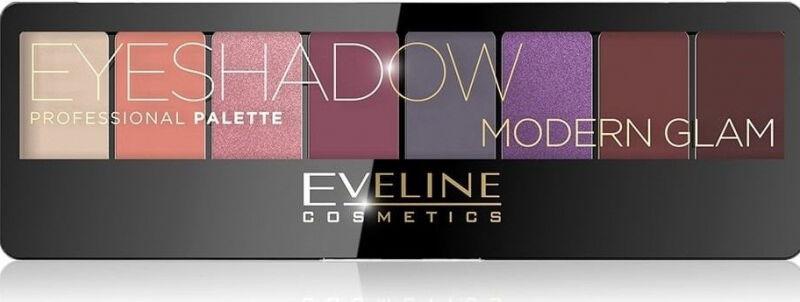 EVELINE - Eyeshadow Professional Palette - Paleta 8 cieni do powiek - 03 MODERN GLAM