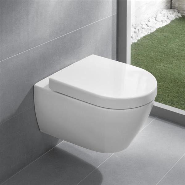Subway 2.0 V&B miska WC wisząca DirectFlush white alpin Ceramicplus - 5614 R0 R1