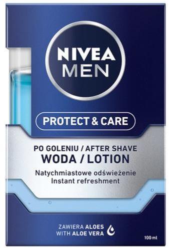 Nivea Men Protect & Care odświeżająca woda po goleniu 100 ml