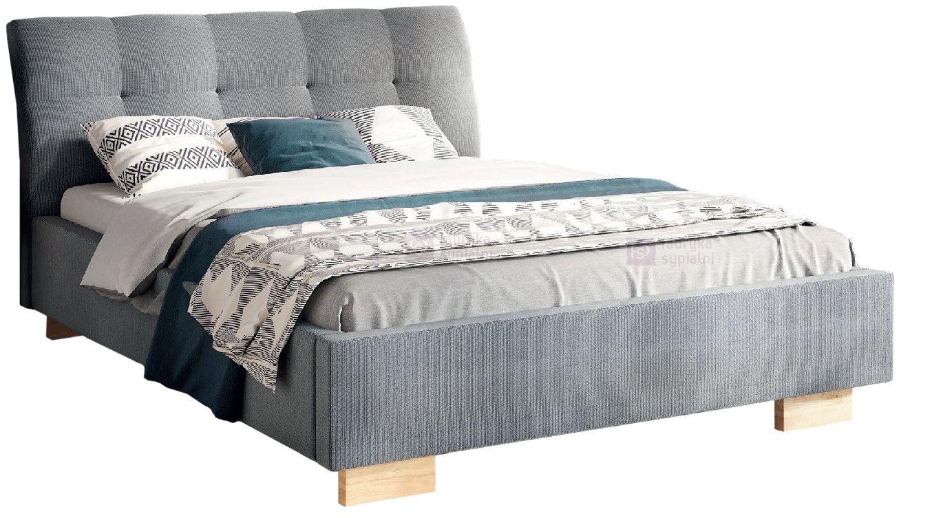 Łóżko tapicerowane VERIS PRESTIGE z pojemnikiem