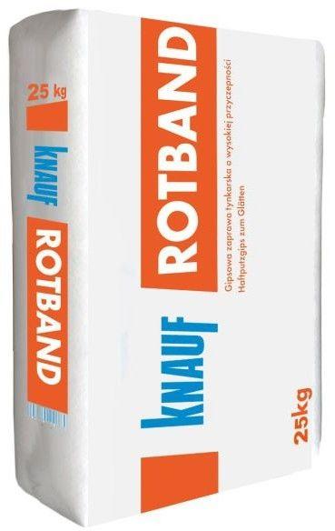 Tynk gipsowy ręczny Knauf Rotband 25 kg