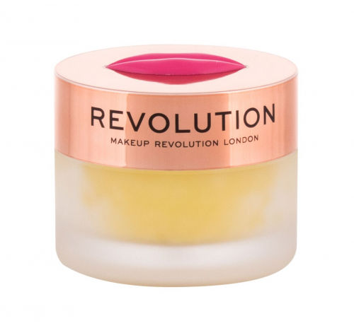 Makeup Revolution London Sugar Kiss Lip Scrub balsam do ust 15 g dla kobiet Pineapple Crush