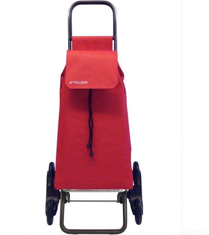 Wózek zakupowy do pokonywania schodów Rolser RD6 Saquet /czerwon
