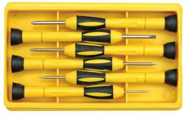 Wkrętaki precyzyjne cr-v,torx, kpl. 6szt. Vorel 64554 - ZYSKAJ RABAT 30 ZŁ
