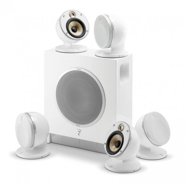 Zestaw FOCAL DOME 5.1 FLAX, SUB AIR - biały + UCHWYT i KABEL HDMI GRATIS !!! MOŻLIWOŚĆ NEGOCJACJI  Odbiór Salon WA-WA lub Kurier 24H. Zadzwoń i Zamów: 888-111-321 !!!