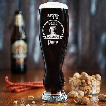 Skocz po piwo - Grawerowana Szklanka do piwa