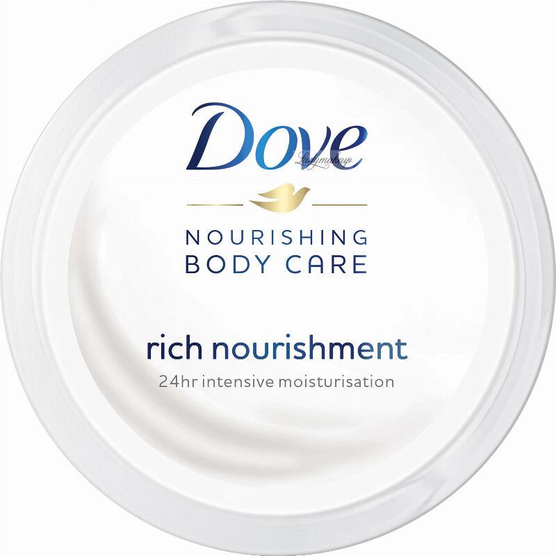 Dove - Nourishing Body Care - Rich Nourishment - Intensywnie nawilżający krem do ciała do wszystkich rodzajów skóry - 75 ml