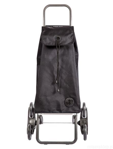 Wózek zakupowy do pokonywania schodów Rolser RD6 Logic /czarny/