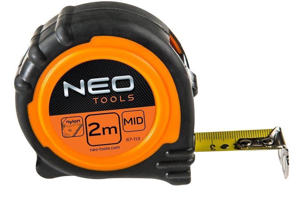Zwijana miara Neo tools 2 m, stalowa