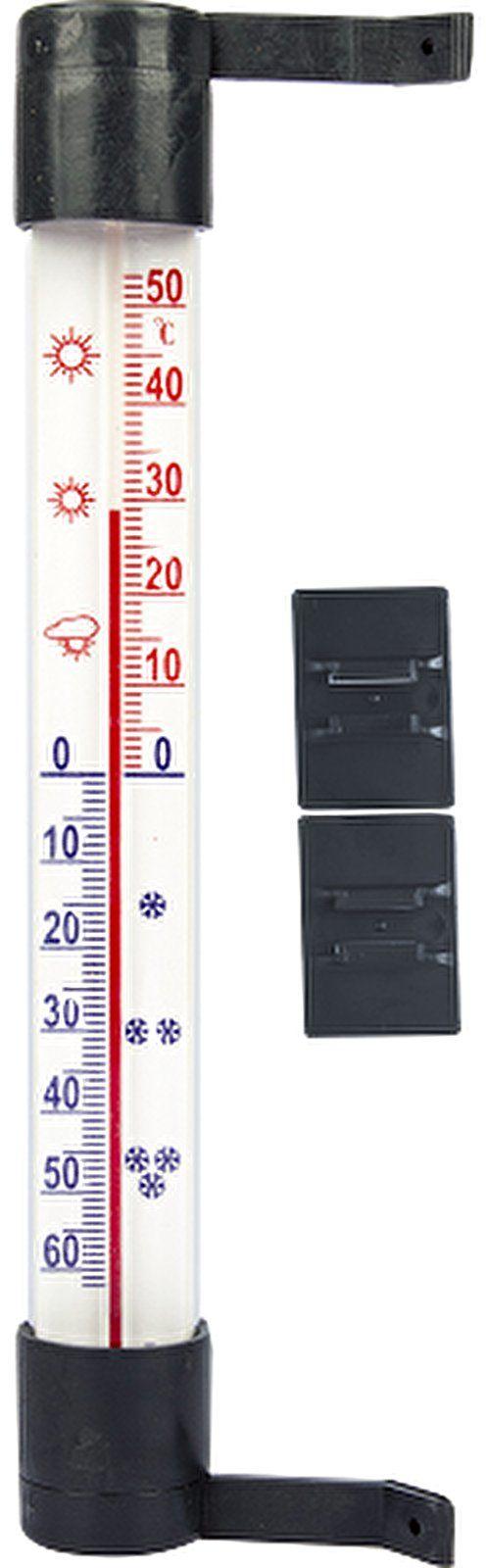 Termometr zewnętrzny antracytowy