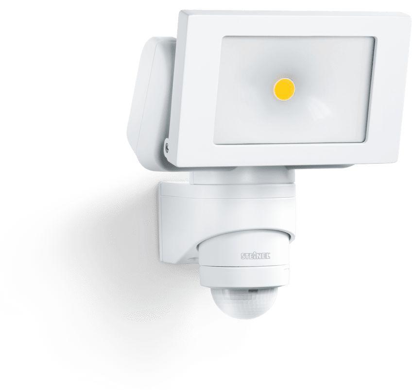 Naświetlacz z czujnikiem LS 150 LED ST052553 zewnętrzna oprawa świetlna w kolorze białym Steinel