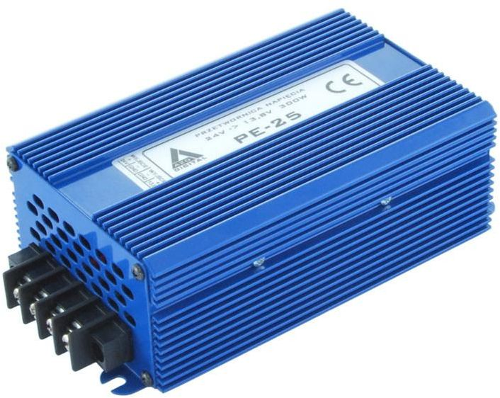 Przetwornica napięcia 24 VDC / 13.8 VDC PE-25 300W