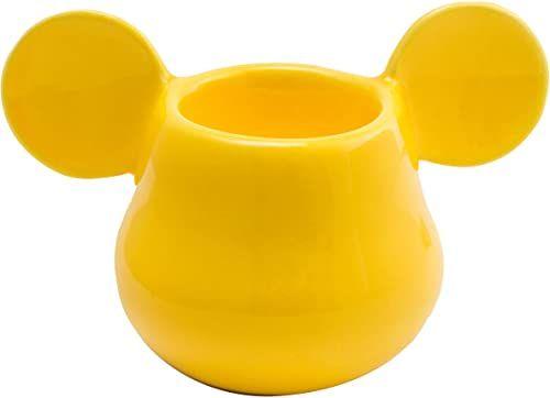 Joy Toy 62141 MICKEY MOUSE 3D kubek jajkowy żółty 11 x 7 x 7 cm