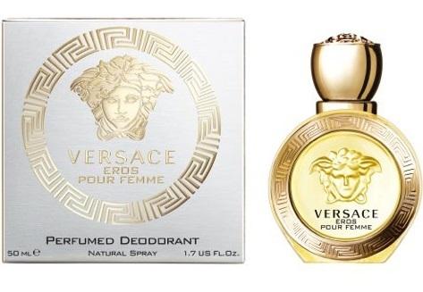 Versace Eros Pour Femme perfumowany naturalny dezodorant w sprayu - 50ml