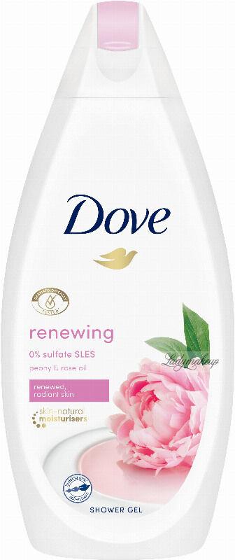 Dove - Purely Pampering Shower Gel - Żel pod prysznic - Słodki Krem & Piwonia - 500 ml