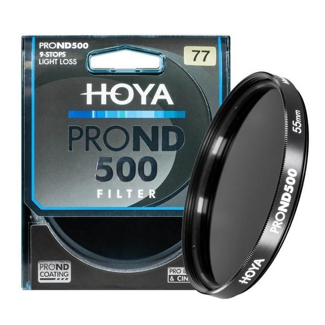 Filtr neutralnie szary Hoya PRO ND500 77mm - WYSYŁKA W 24H