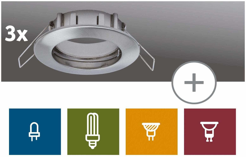 Paulmann 99738 LED oprawa do zabudowy Premium 2Easy, nieruchome, do łączenia z zestawami Paulmann Downlight 2Easy Basic