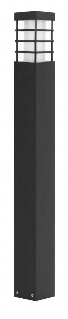 SU-MA RADO II 1 BL lampa stojąca czarna E27 IP54 75cm