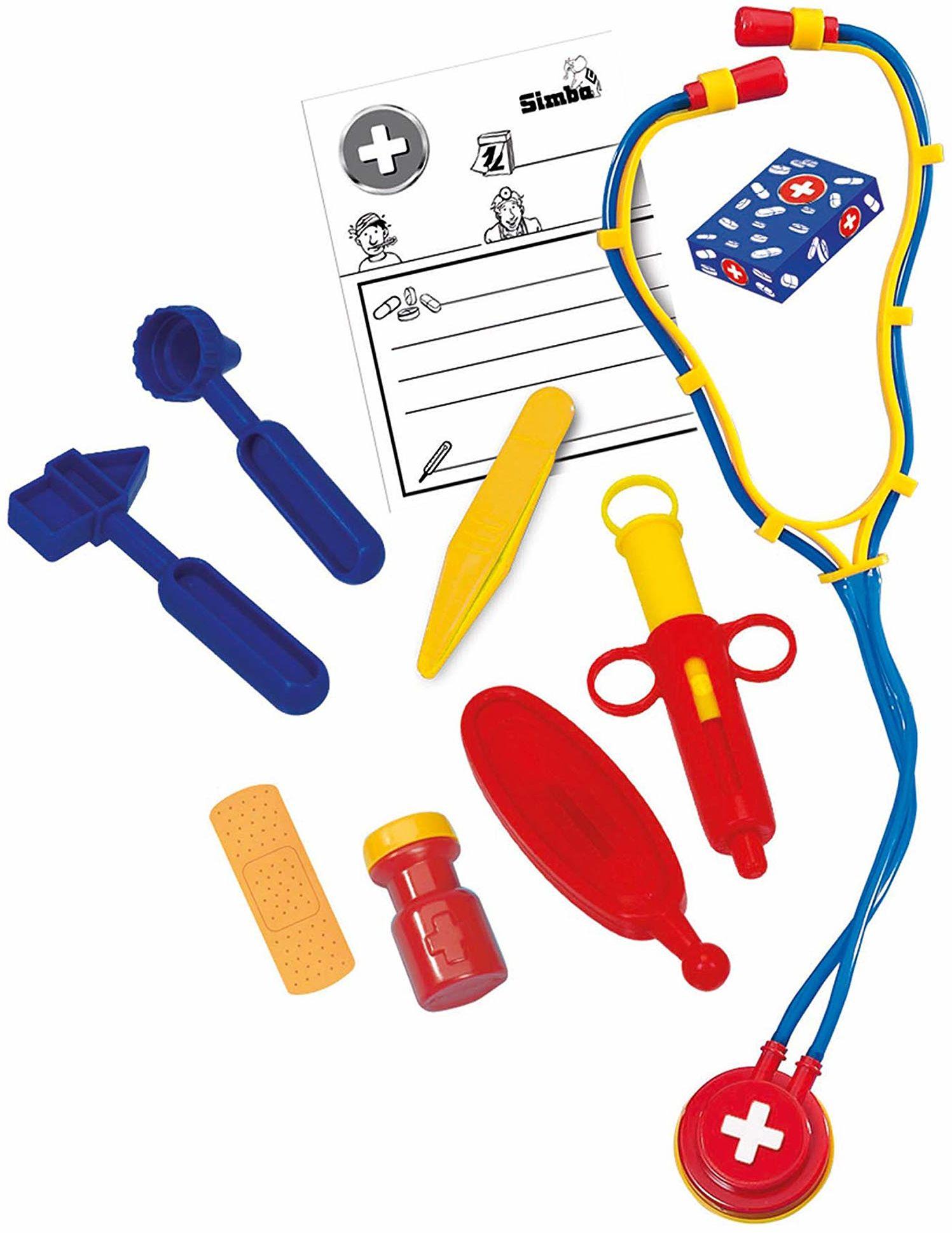 Simba 105544054 zestaw lekarzy w walizce