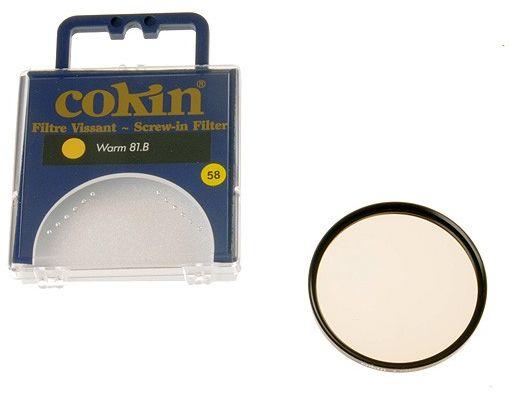 Cokin C027 filtr ocieplający 81B 58mm