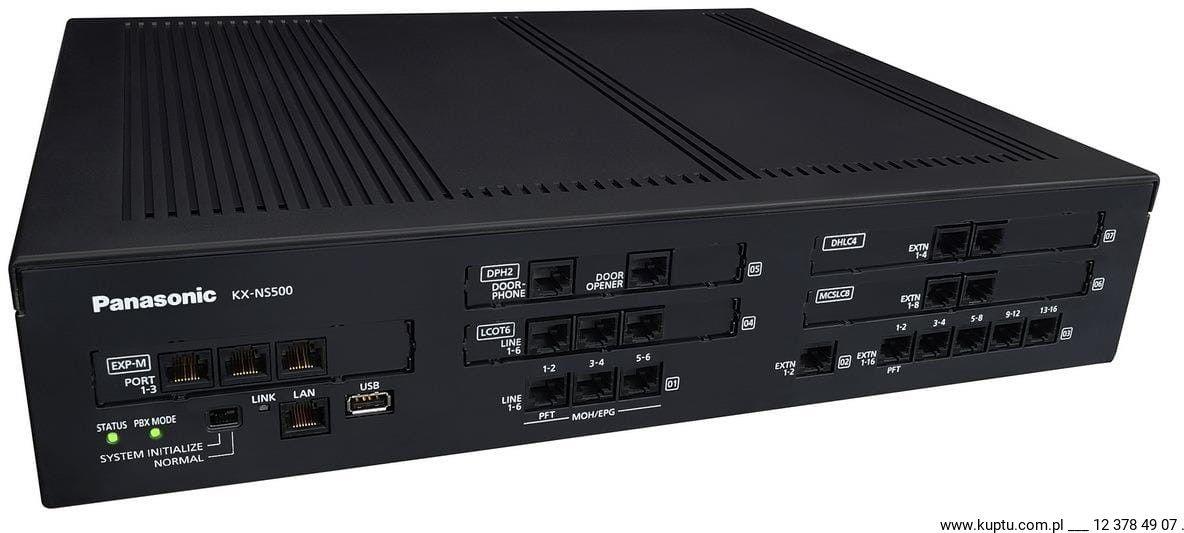 KX-NS500NE, centrala cyfrowa IP